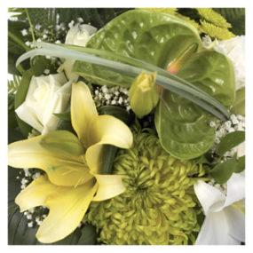 Verrassingsboeket seizoensbloemen natuurlijk
